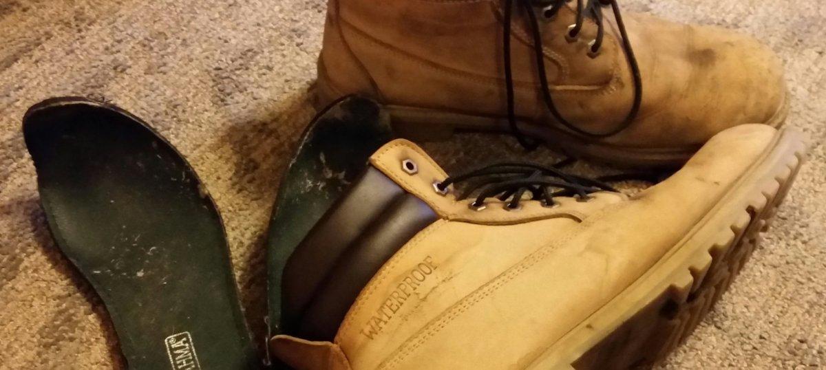 A Man's Boots