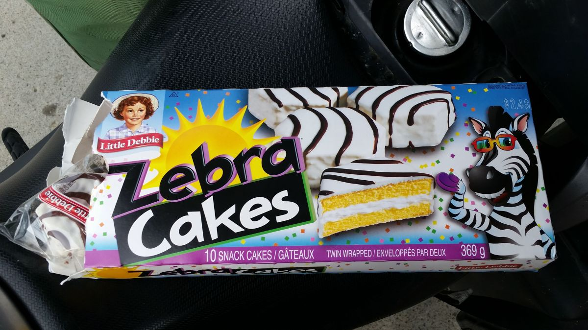 Ten Zebra Cakes toVancouver